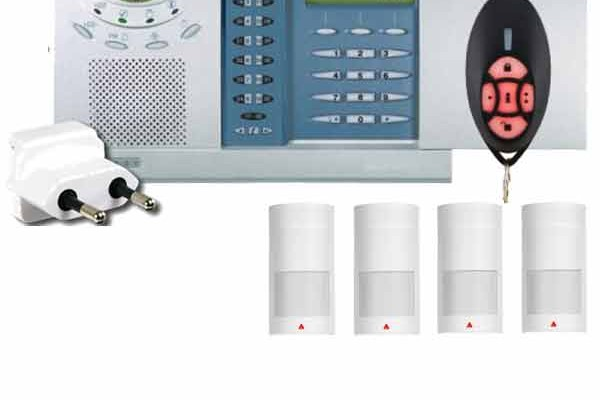 Sistem de alarma antiefractie fara fir