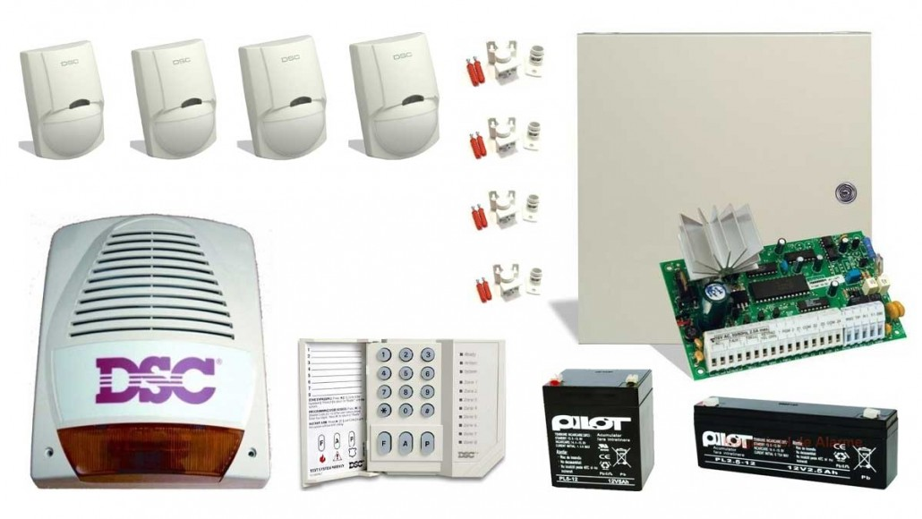 Sistem de alarma antiefractie cablat