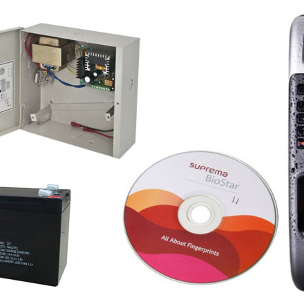 Kit Pontaj Biometric (BioLite Net)