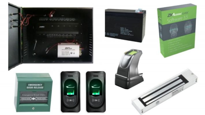 KIT Control Acces Biometric (INBIO 160 CAB + FR1200)