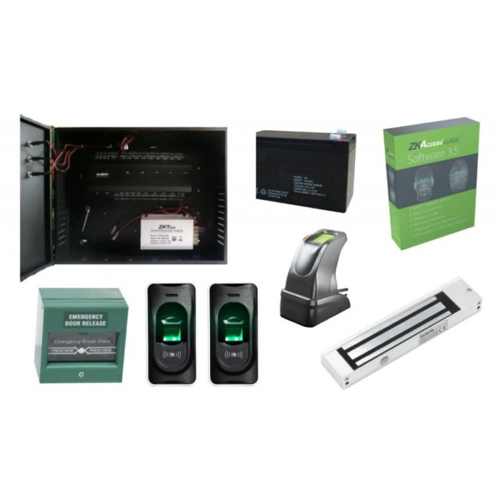 KIT Control Acces Biometric – INBIO 160 CAB
