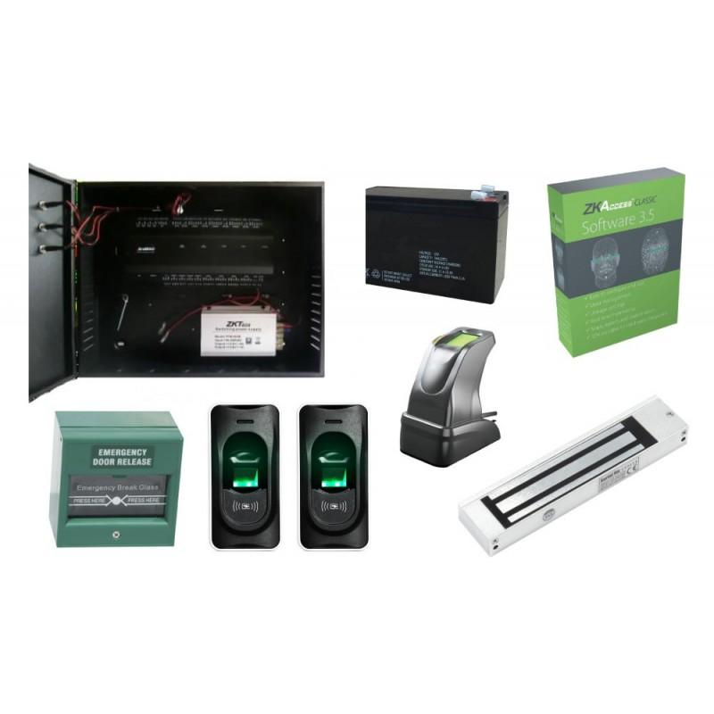 KIT Control Acces Biometric (INBIO 160 CAB + FR1200)