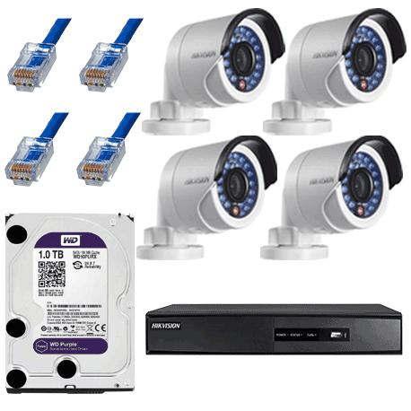 kit-complet-de-supraveghere-ip-hikvision-cu-4-camere